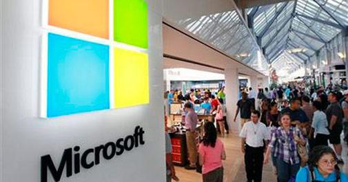 Microsoft, IBM lead jump in cloud business
