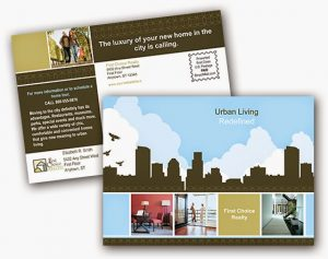 Home Valuation Postcards