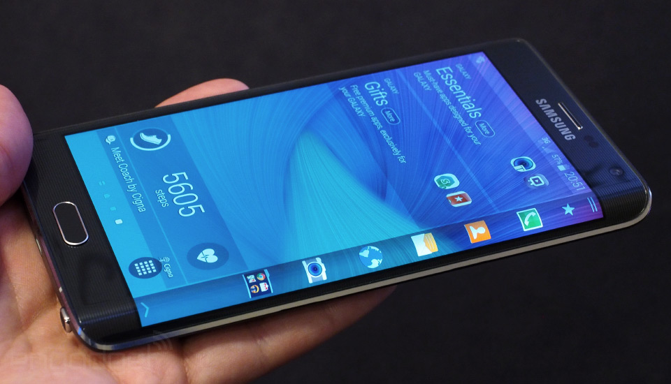 The Special Display Of Samsung Galaxy Note Edge: Review