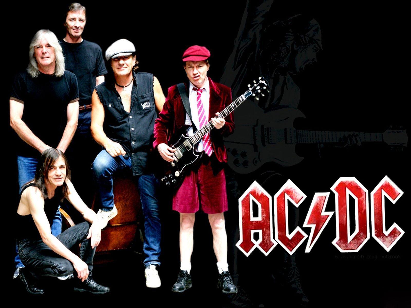 AC/DC Band In Dublin
