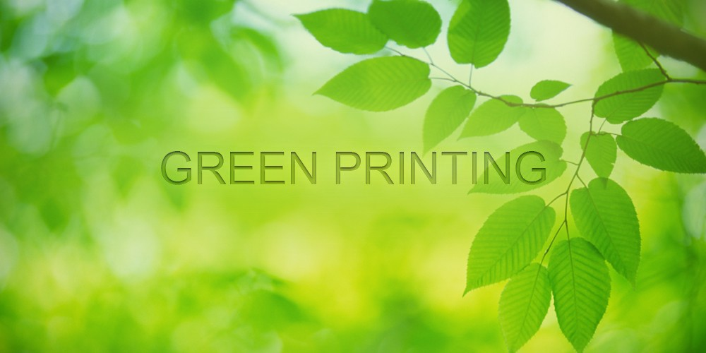 Why You Should Switch To Green Printing