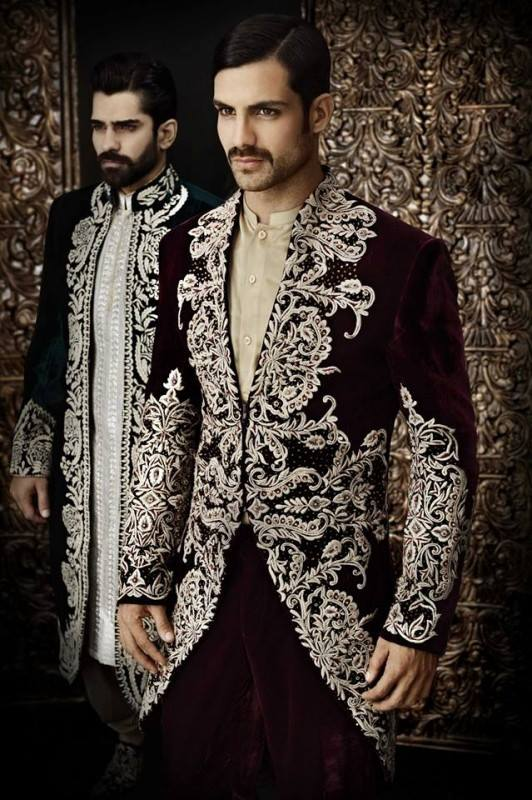 Menswear-Sherwani-Designs-2014-By-Arsalan-Iqbal-008