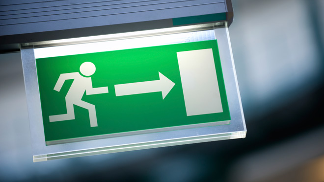 How To Save Some More Energy While Using The Exit Signs