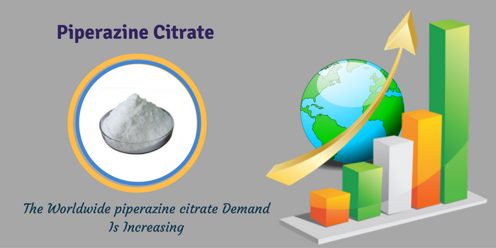 The Global Demand Of Piperazine Citrate Is Increasing