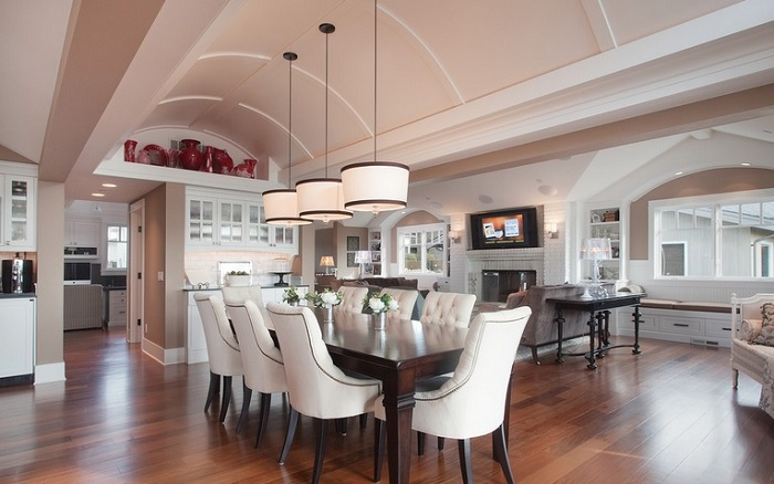 6 Eye Catching Ceiling Designs For Your Dining Room