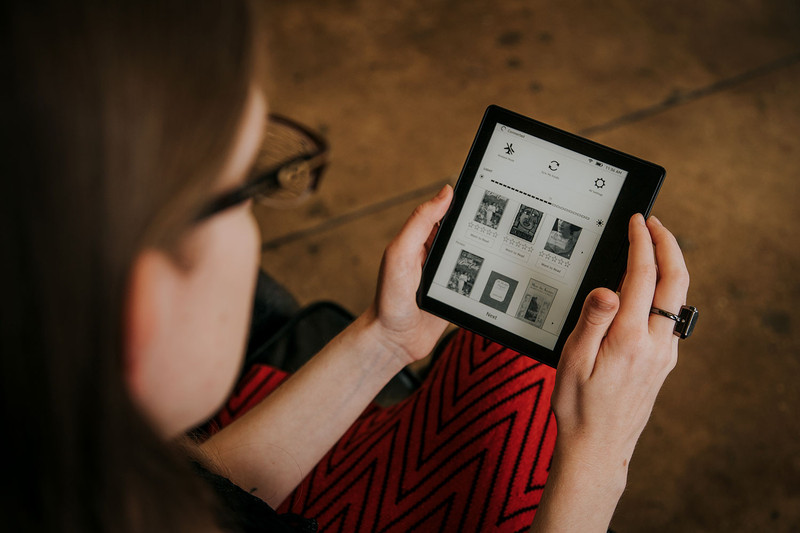 The Best Kindle Yet, The All New Kindle Oasis