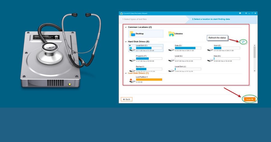 EaseUS Data Recovery Software The One Software To Save You From Your Boss Scolding