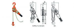 Lever Hoists and Manual Chain Hoists
