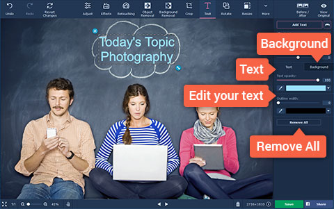 Want To Create An Interesting And Engaging Image File? Now Add Text To Image Files With Movavi!