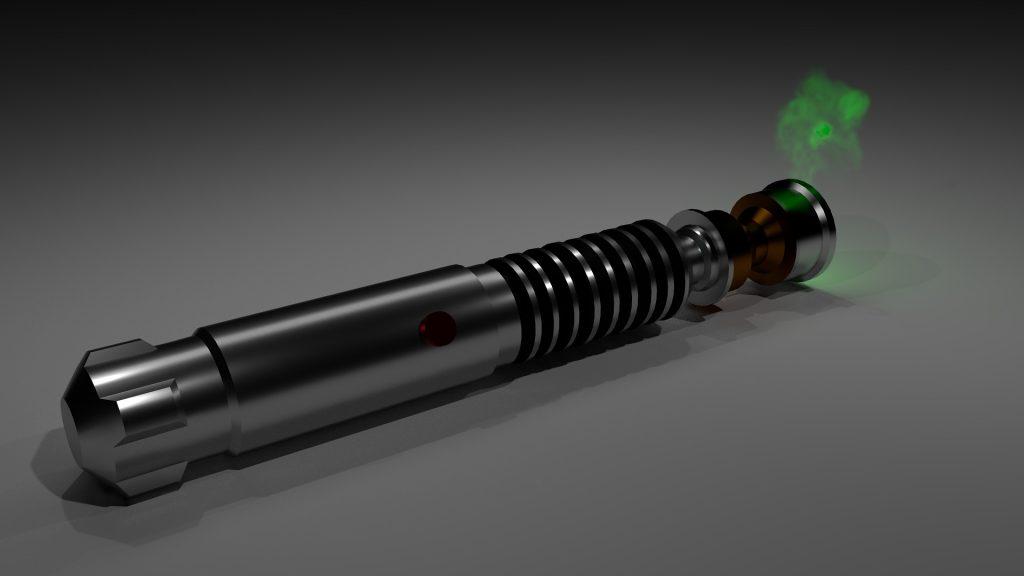 Portable handheld laser marker