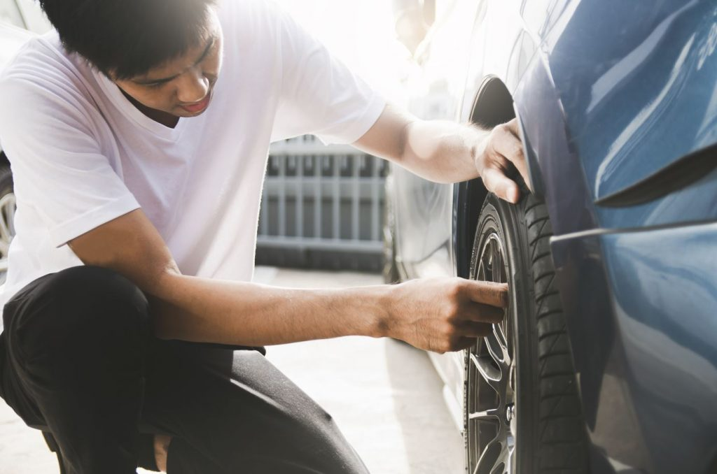 Patched Tires, Used Tires, and New Tires